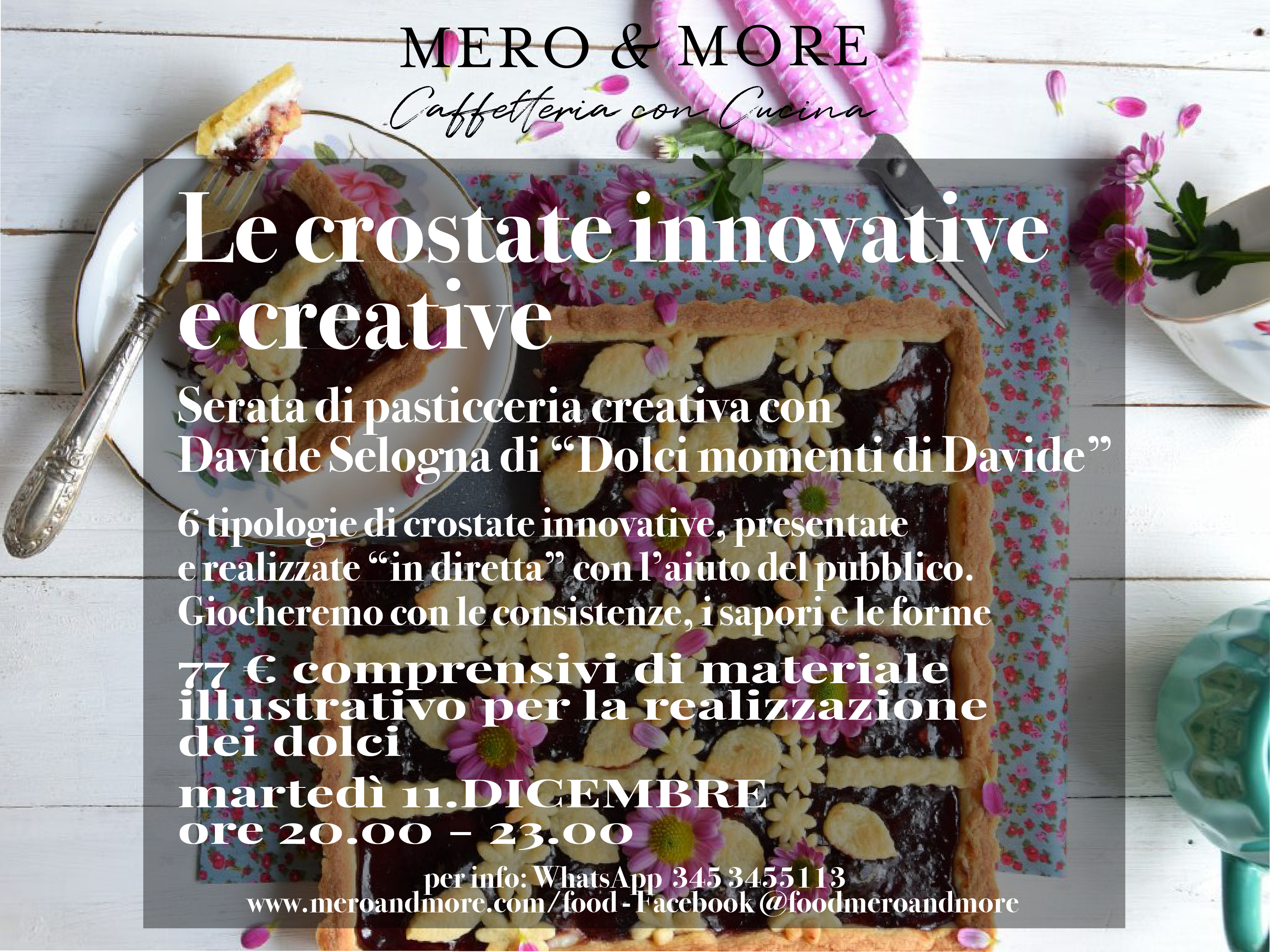 Le crostate innovative e creative